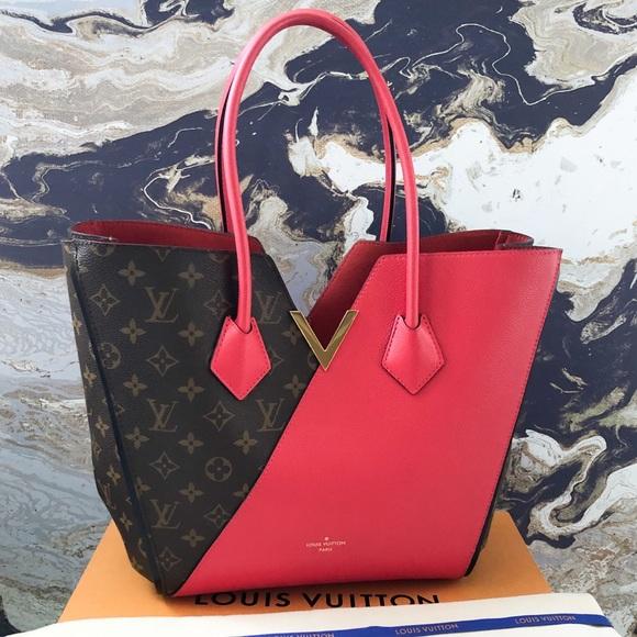 Louis Vuitton Handbags - Louis Vuitton Monogram Calfskin Kimono MM Tote